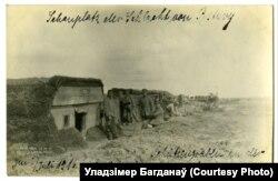 Кайзэраўцы аднаўляюць разбураныя пазыцыі ля вёскі Мажэйкі
