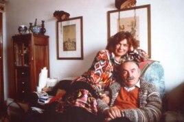 Тоніно Ґуерра з дружиною (фото надане Асоціацією Тоніно Гуерри)