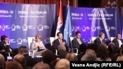 Forum Srbija - EU, Beograd, 9. septembar 2011