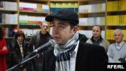 Scriitorul Vasile Ernu