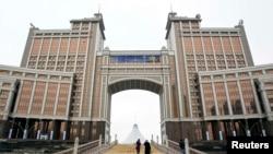 «ҚазМұнайГаз» ұлттық мұнай компаниясының Астанадағы бас кеңсесі. (Көрнекі сурет)