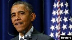Президент США Барак Обама. Білий дім. Вашингтон. 10 грудня 2014 року