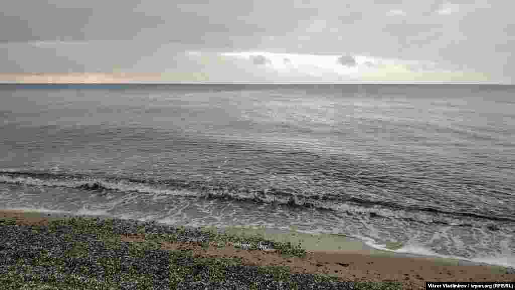В море – практически штиль