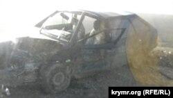 Автомобільна аварія на трасі «Таврида»