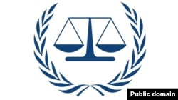 Емблема Міжнародного кримінального суду в Гаазі