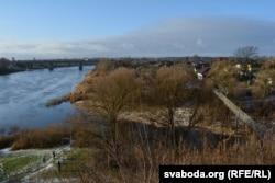 Місце, де зустрічаються річки Полота та Двіна