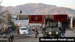 Mesto eksplozije u Džalalabadu