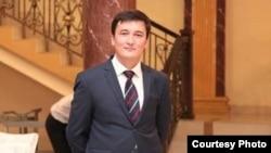 Кыргызский журналист Адилет Айтикеев.