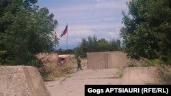 ერგნეთი, რუსეთის ჯარისკაცი ე.წ. საზღვარზე