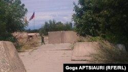 რუსეთის სამხედრო ერგნეთის ეგრეთ წოდებულ საზღვარზე