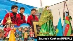 Алматыдағы Қазақстан халқы ассамблеясы ұйымдастырылған шаралардың бірі.