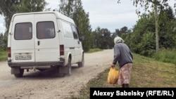 Клиенты автолавок – последние жители вымирающих деревень
