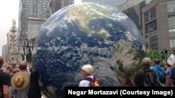 Марш против антропогенных климатических изменений, США, 2014