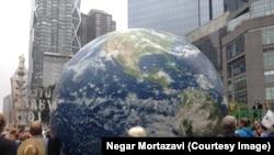 Gjatë marshit për ndryshimet klimatike ne USA - 21 Shtator 2014