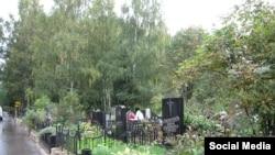 Хованское кладбище близ Москвы.