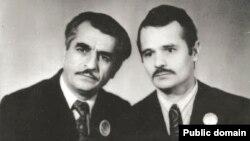 Решат Джемилев (слева) и Мустафа Джемилев