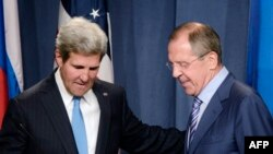 U.S. Secretary of State John Kerry (left) and Russian Foreign Minister Sergei Lavrov have worked out a deal on Syria's chemical weapons.