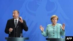 Ильхам Алиев встретился с Ангелой Меркель