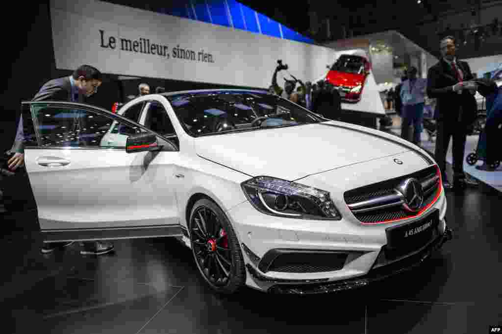 The new Mercedes Benz A 45 AMG edition