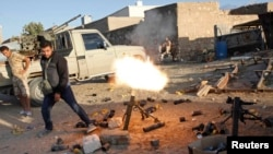 به گفته سخنگوی ارتش ملی لیبی این حمله توسط یک تیپ از نیروهای شهر مصراته موسوم به «نیروی سوم » صورت گرفته است. (عکس آرشیوی ست)