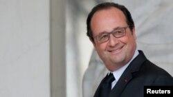 Fransuz prezidenti Fransua Olland (Francois Hollande).