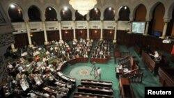 Зал заседаний Парламента Туниса