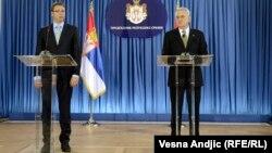 Aleksandar Vučić i Tomislav Nikolić