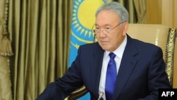 Қазақстан президенті Нұрсұлтан Назарбаев. Астана, 10 қараша 2014 жыл.