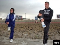 Three other Afghan athletes plan to compete at the Olympics