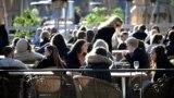 Pune bašte u Štokholmu uprkos pojavi korona virusa, Švedska, 26 mart 2020.