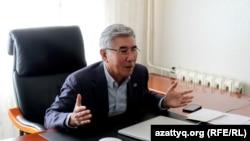 Лидер оппозиционной партии ОСДП Жармахан Туякбай. 19 октября 2016 года.