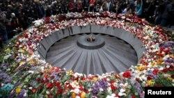 Հայոց ցեղասպանության զոհերի Ծիծեռնակաբերդի հուշահամալիրը 2015-ի ապրիլի 24-ին