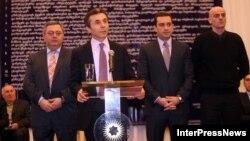 Появившийся на политической арене миллиардер Бидзина Иванишвили собрал большую часть оппозиции в коалицию «Грузинская мечта»