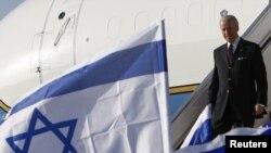Джо Байден прибыл в Израиль.