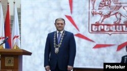 Мэр Еревана Тарон Маркарян, Ереван, 12 июня 2017 г.