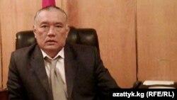 Экс-глава Баткенской области Султанбай Айжигитов.