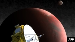 Нови Хоризонти се доближува до Плутон.