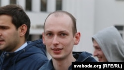 Belarusian blogger Eduard Palchys (file photo)