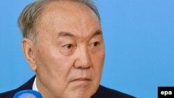 Нұрсұлтан Назарбаев, Қазақстан президенті.