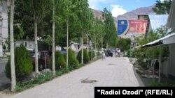 Шаҳри Хоруғ, маркази маъумурии вилояти Бадахшон (акс аз бойгонӣ)