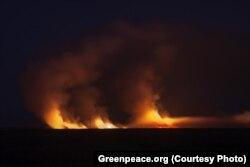 Пожежі на Кубані