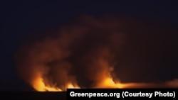 Пожары на Кубани