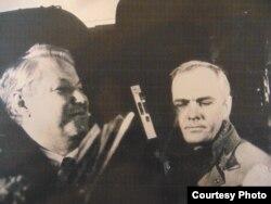 Борис Ельцин и Игорь Кучеренко