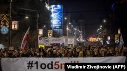 Februarski protest 1 od 5 miliona
