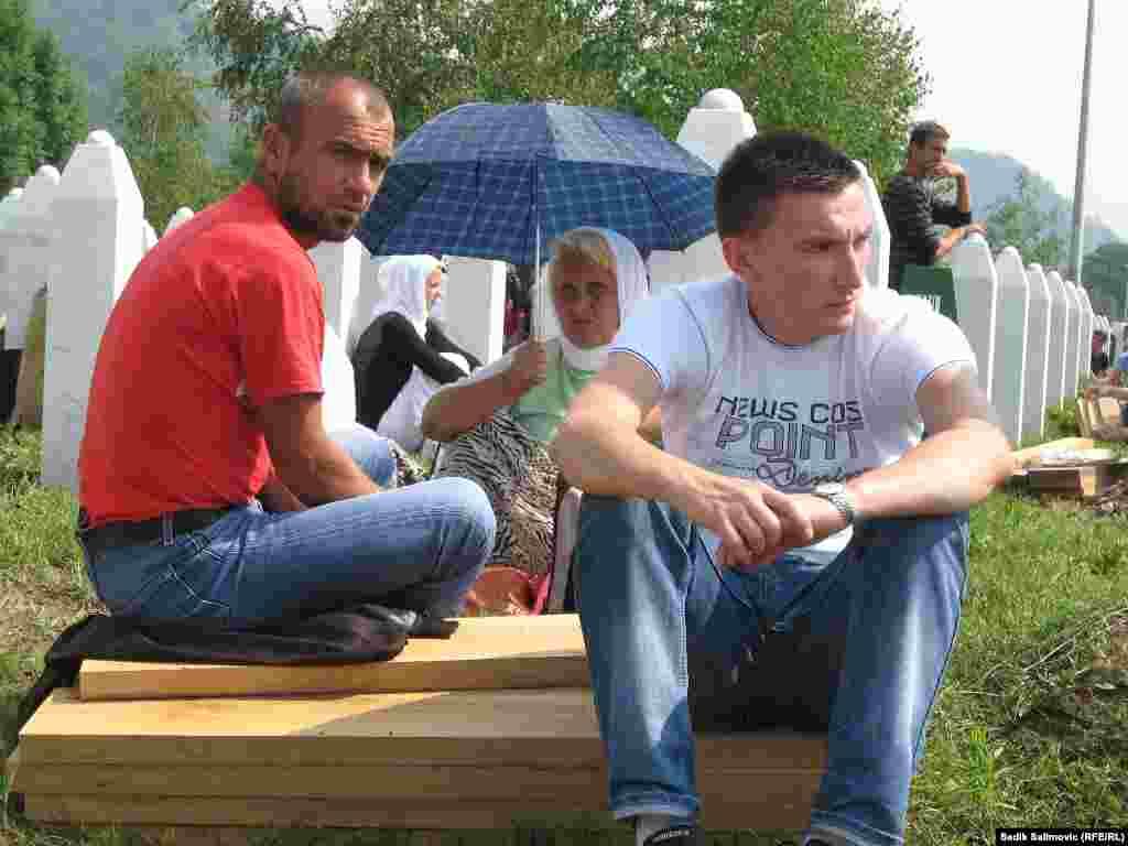 Srebrenica, 11. juli 2013. Foto: Sadik Salimović, RSE