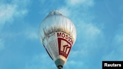 Russian adventurer Fyodor Konyukhov is attempting to break the world record for a solo hot-air balloon flight around the globe.