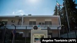 Afinada İran səfirliyinin binası