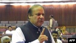 د پاکستان لومړی وزیر نواز شریف
