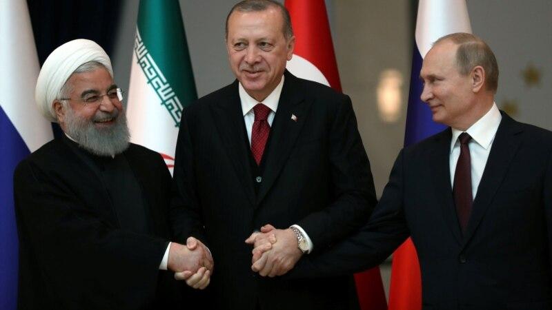 Россия, Турция и Иран не допустят раздела Сирии - президент Роухани