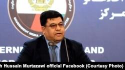 شاه حسین مرتضوی معاون سخنگوی رئیس جمهور افغانستان